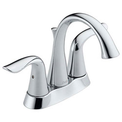 Delta 2538-MPU-DST Lahara Two Handle Centerset Lavatory Faucet, Chrome