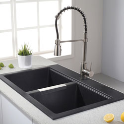 Kraus KGD-433B Kitchen Sink