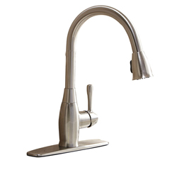New -AQUASOURCE PULL-DOWN KITCHEN FAUCET