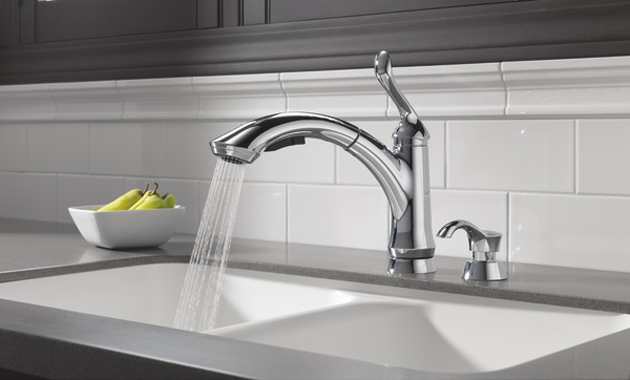 Delta Linden Single Handle Pull Out Faucet Review