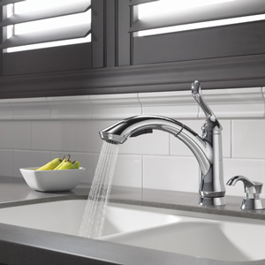 Delta Linden Single Handle Pull-Out Faucet Review