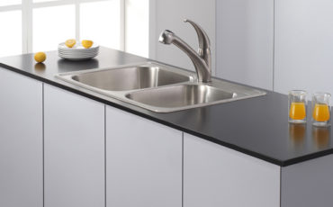 Kraus KPF-2110 Single Lever Stainless Steel Pull Out Kitchen Faucet