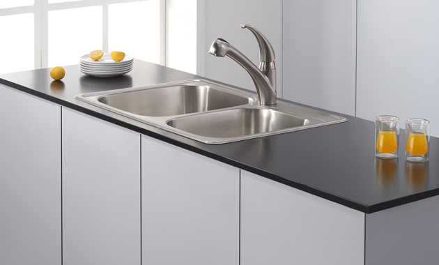 Kraus Kpf  Single Lever Stainless Steel Pull Out Kitchen Faucet