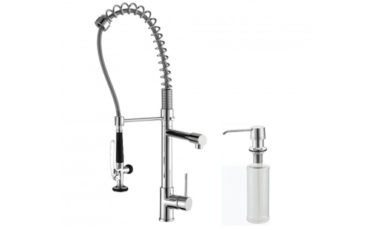 Kraus Single Handle, Commercial Style Faucet