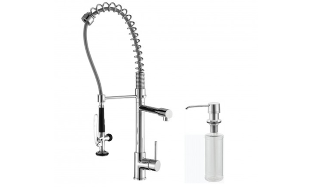Kraus Single Handle Commercial Style Faucet Review