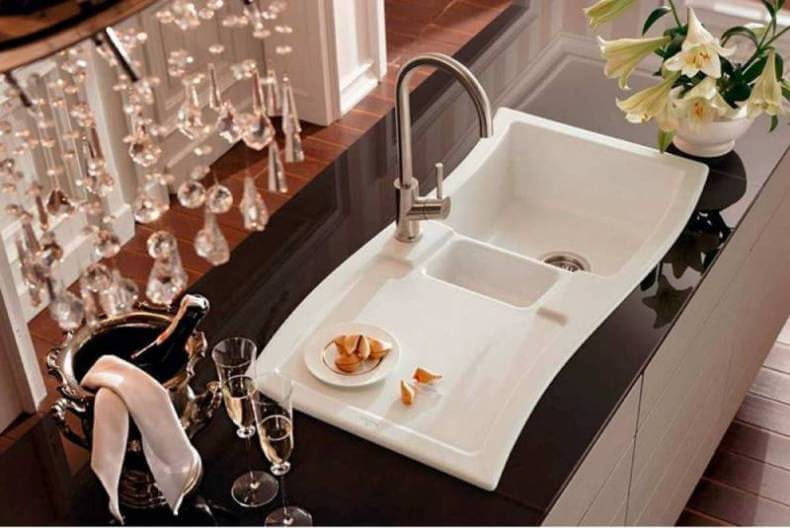 porcelain kitchen sinks