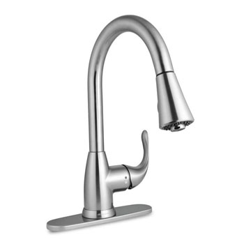Glacier Bay Market Single-Handle Pull-Down Faucet