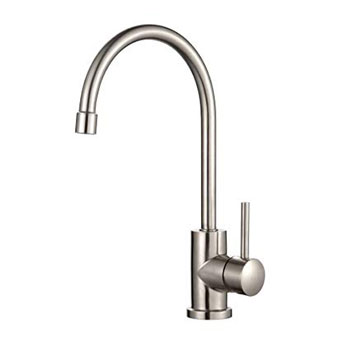 Kraus KPF-2160 Single Lever Stainless Steel Kitchen Faucet