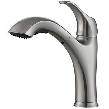 Kraus KPF-2250 Single Lever Pull Out Kitchen Faucet