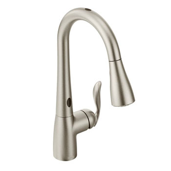 Moen 7594ESRS Arbor With Motionsense One-Handle High Arc Faucet