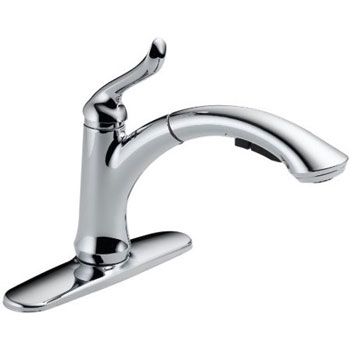 Delta 4353-DST Linden Single-Handle Pull-Out Kitchen Faucet