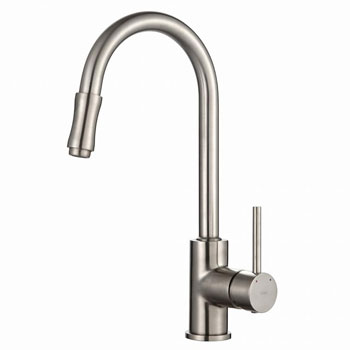 Kraus KPF-1622SN Single Lever Pull-Down Faucet