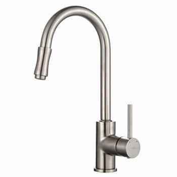 Kraus KPF-1622SN Single Lever Pull-Down Faucet